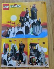 Lego 6075 Castle Wolfpack Tower INSTRUCTION MANUAL ONLY