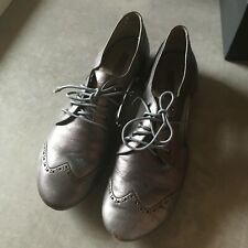 Womens Marsell Metalic Cut Out Brouges Size 41/10
