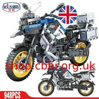 ERBO Technic Motorcycle Model Building Blocks Racing Motorbike Vehicle Bricks