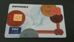 1996 $20 - VISA CASH CARD - WESTPAC - RELEASED IN QUEENSLAND ONLY - MINT