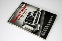 Radio Shack Business Programs For TRS-80 Model I/III 1980 1st Vintage Computing