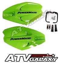 PowerMadd PowerX Handguards GREEN Hand Guards Ski Doo Snocross Snowmobile
