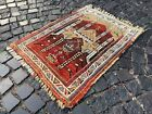 Vintage rug, Turkish rug, Handmade rug, Area rug, Wool rug Carpet | 2,6 x 3,4 ft