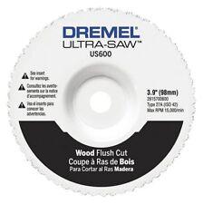 Dremel Us600-01 Flush Cut Wheel,Carbide,4 In. Dia.