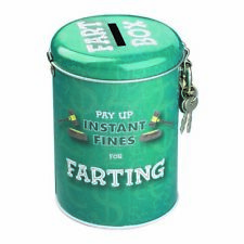 Farting Fines Money Tin - box dad funny gift