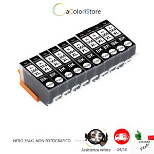 10 cartucce HP 364XL compatibili multipack Photosmart B010A B109 5520 4620