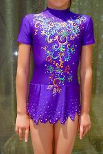 Competition leotard Rhythmic Gymnastics 120-135 cm girl