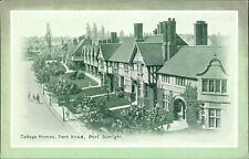 PORT SUNLIGHT Park Road - Houses + Fountain Cottage Homes postcards Wirral JD551