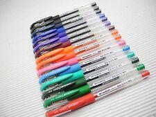 15 Colors Uni-Ball Signo UM-151 0.38mm Ultra Fine Roller ball pen(Japan)
