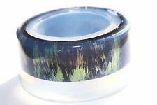 SALE! Clear Silicone Bangle Bracelet molds .Size 68mm . Free USA shipping! (A87)