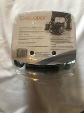 Rolodex Professional Business Card File 200 Cards Silver New In Box Nib