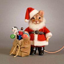 R John Wright Santa Claus Mouse