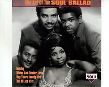 CD THE ART OF THE SOUL BALLAD	various art. 	EX  (A3465)
