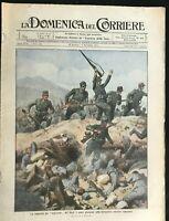 DOMENICA DEL CORRIERE - Italian Newspaper with WWI / WW1 Illustrations  Nov 1915