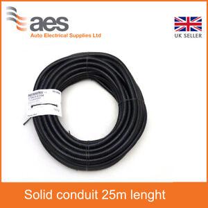 CTPA Flexible Black Conduit Size 08 Solid - Non Split - 25m Part nr CTPA08/25M