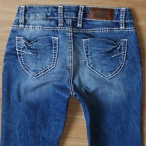 ❤️ SOCCX ANGEL Damen Jeans Hose 34 W 26/ L 30  ***WIE NEU ***
