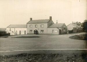 MAIDEN LAW Durham: Original 6x4ins photo THREE HORSE SHOES   c.1930s