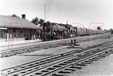 Canadian National Railways (CNR) Engine 6215 at Brockville Station - 8x10 Photo