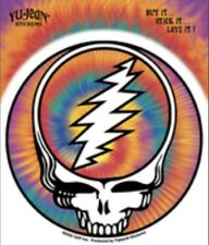 Grateful Dead Steal Your Face Tie Dye Skull Sticker G006S Phish Jerry Garcia