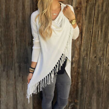 New Womens Long Sleeve Cotton Casual T Shirt Tunic Tops Fashion Blouse Sweater
