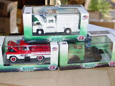 M2 MACHINES AUTO TRUCKS 1959 APACHE 1956 FORD F100 1957 DODGE COE TRUCK SET of 3