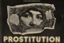 EO FILM DOCUMENTAIRE DOSSIER PRESSE JEAN-FRANÇOIS DAVY : PROSTITUTION