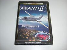 Avanti II PC add-on MICROSOFT FLIGHT SIMULATOR SIM 2004 & X FSX FS2004-NUOVO