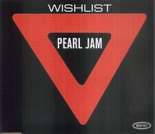 PEARL JAM - WISHLIST CD SINGLE 1 TRACK PROMO 1998 SLIM BOX