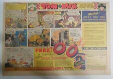 "Ralston Cereal Ad: Tom Mix ""Secret Telephone"" Premium 1937 Size:11 x 15 inches"