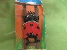 Flower Pot Hugger Ladybug Climbing Ladder New