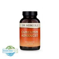 Curcumin Advanced 500mg   Dr Mercola   90 CAPSULES   antioxidant, brain, gut