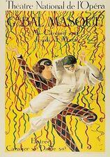 """""""Theatre National de l'Opera"""" by Leonetto Cappiello - Vintage Art  Serigraph"""