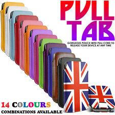Cover e custodie semplice in pelle sintetica per cellulari e palmari Universale
