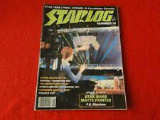 Vintage Science Fiction Magazine Star Log June 1978 #14 Star Wars Matte Painter6