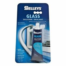 Selleys SILICONE SEALANT FOR GLASS 75g Clear