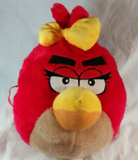 Angry Birds Red Bird Big Face Plush Backpack Bag by Rovio