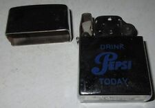 Pepsi Cola Lighter Chrome Sunflower Drink Pepsi Today Unhinged Lid Cool Collect