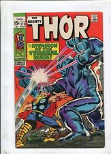 THOR #170 (7.0) THE THUNDER GOD AND THE THERMAL MAN!