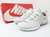 Nike Air Presto BR QS White Boxed Medium UK 9-10 Deadstock EU 44