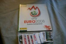 PANINI EURO 2008 EUROPA 2008 COMPLET stickers ALBUM vide + set complet RARE