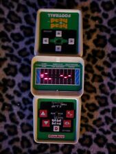 Vintage Coleco Electronic Head to Head Football Tested - Works