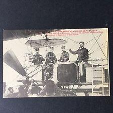 CPA Dirigeable Militaire République Marchal Chauré Vincenot Réan 1909 Postcard