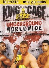 King of the Cage - Underground Worldwide - 10-Event Set (DVD, 2007) WORLD SHIP