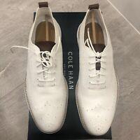 Cole Haan White Zerogrand Stitchlite UK9 US10 RRP £199 BRAND NEW   UK SELLER