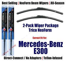 2pk Super-Premium NeoForm Wipers fit 2012-2013 Mercedes-Benz E300 - 162412x2