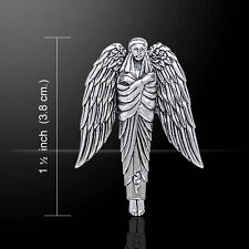 Angel of Protection .925 Sterling Silver Pendant by Peter Stone