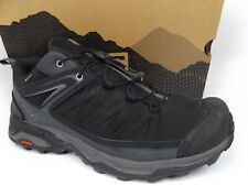 Men's Salomon X Ultra 3 GORE-TEX Hiking Shoes SZ 10.0 M, Black Leather 17400