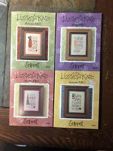 Lizzie Kate ABC's Snippet Cross Stitch Pattern