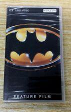 NEW SEALED Batman UMD for PSP FEATURE FILM MICHAEL KEATON JACK NICKLESON