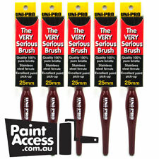 Pack of 5 Uni-pro Paint Brushes The Very Serious Brush 25 mm
